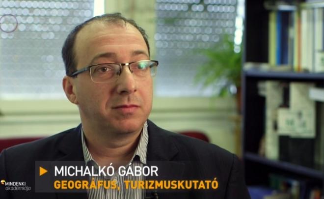 Michalkó Gábor előadása az M5 Mindenki Akadémiája május 30-i adásában